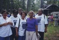 Photograph of Berry College African-American alumni on Mountain Day, Mount Berry,...