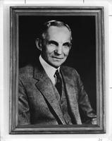Photograph of Henry Ford portrait, Mount Berry, Georgia, 19XX