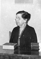 Photograph of Alice Wingo, Dean of Women, Mount Berry, Georgia, 19XX